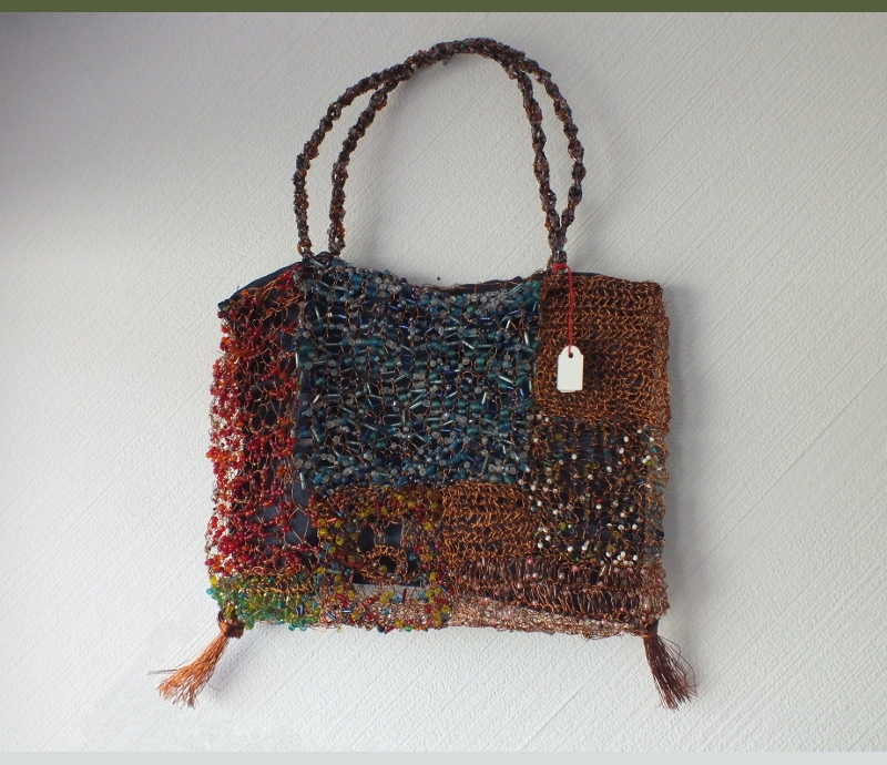tasche aus recyclingmaterial hand made aus s dafrika africa charity shop. Black Bedroom Furniture Sets. Home Design Ideas